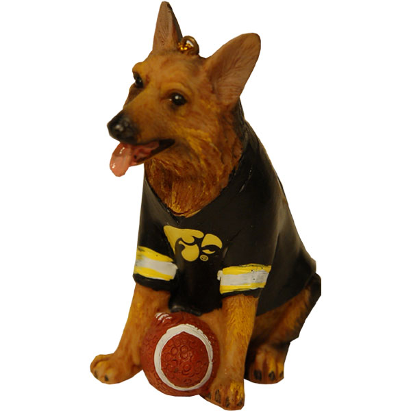 Iowa Hawkeyes Shepard Ornament