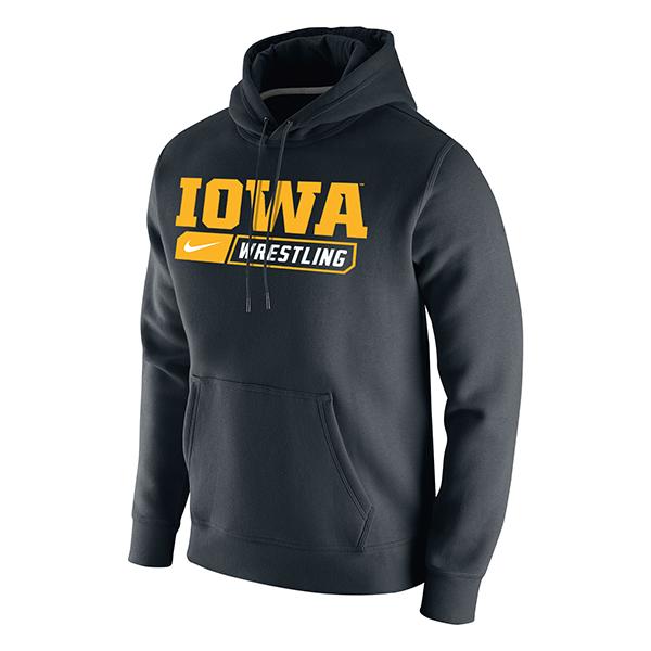 74b24d6b Iowa Hawkeyes Nike Wrestling Hood