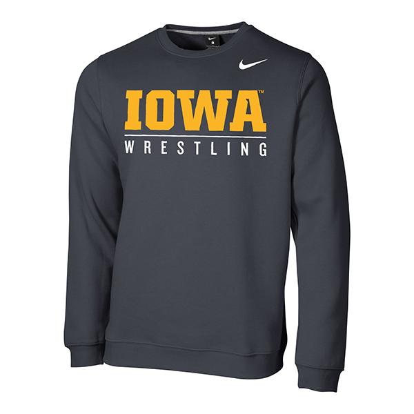 2bbc7403 Iowa Hawkeyes Nike Wrestling Crew