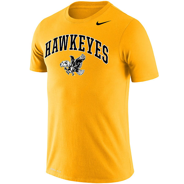 Iowa Hawkeyes Legend Gold Tee