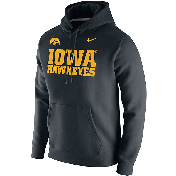 Iowa Hawkeyes Club Logo Fleece