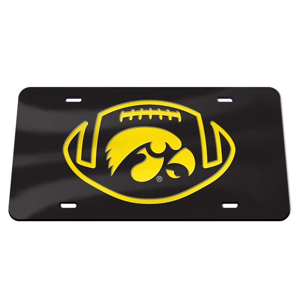 Iowa Hawkeyes Football Plate
