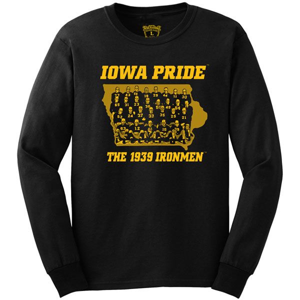 Iowa Hawkeyes Pride Tee - Long Sleeve