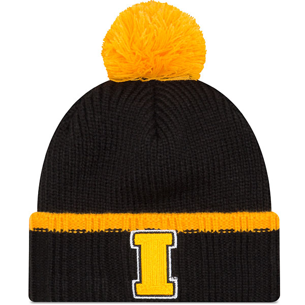 Iowa Hawkeyes Prime Team Pom Knit Hat