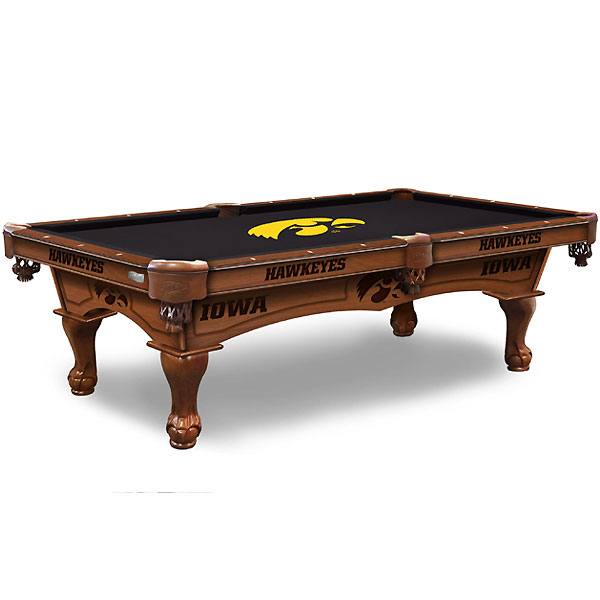Iowa Hawkeyes Pool Table