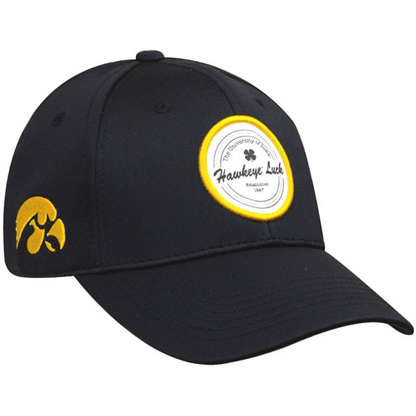 Iowa Hawkeyes Patched Hat