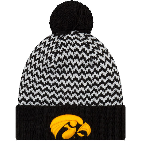 87d21ea6aae Iowa Hawkeyes Women s Patterned Stocking Cap