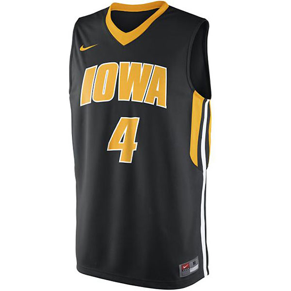 Iowa Hawkeyes Basketball Jersey