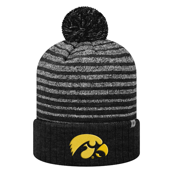 Iowa Hawkeyes Ritz Stripe Stocking Cap