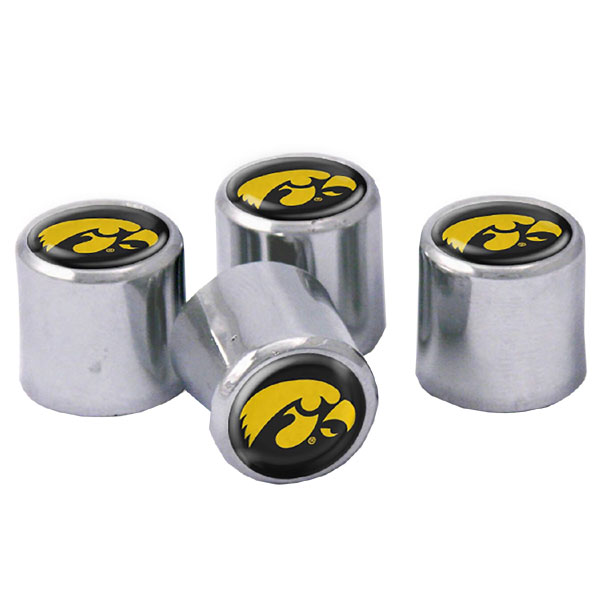 Iowa Hawkeyes Valve Stem Caps