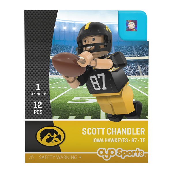 Iowa Hawkeyes Scott Chandler Figure