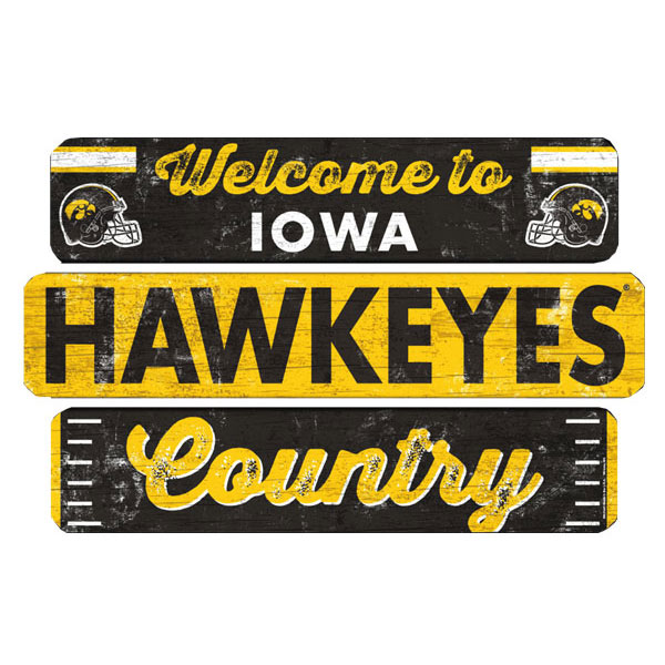 Iowa Hawkeyes Welcome to Iowa Hawkeye Country