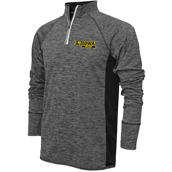 Iowa Hawkeyes Soccer 1/4 Zip Top
