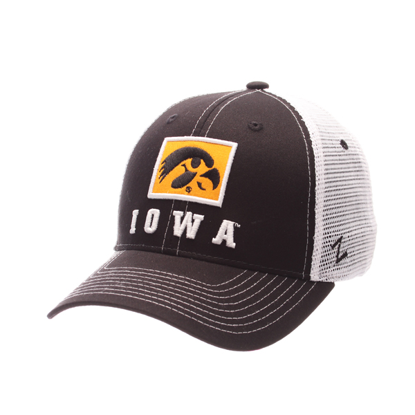 Iowa Hawkeyes Stamp Twill Hat