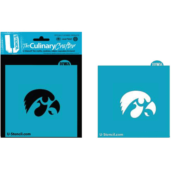 Iowa Hawkeyes Culinary Crafter Stencil