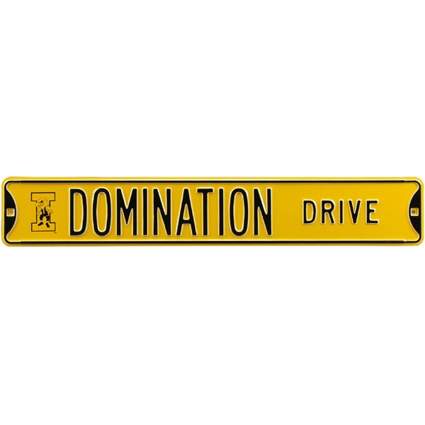 Iowa Hawkeyes Domination Street Sign
