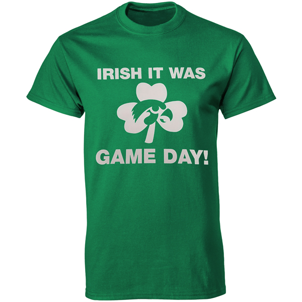 Iowa Hawkeyes St Patrick's Game Day Tee