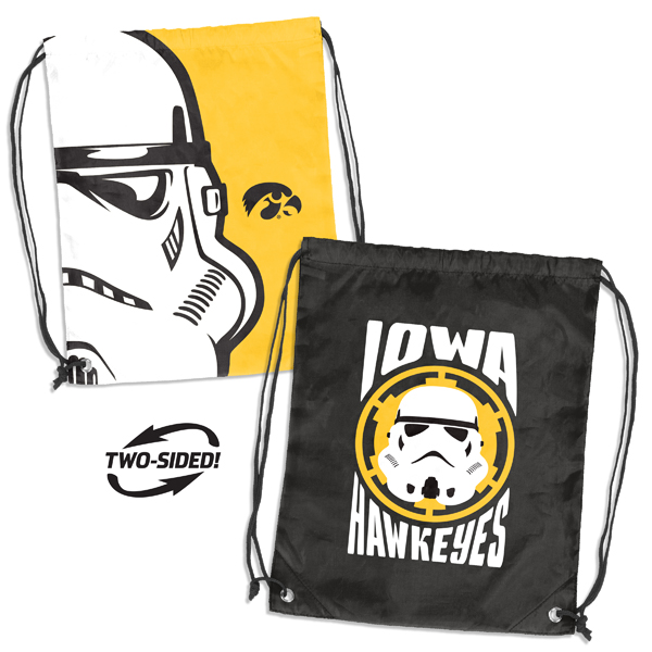 Iowa Hawkeyes Star Wars String Backpack