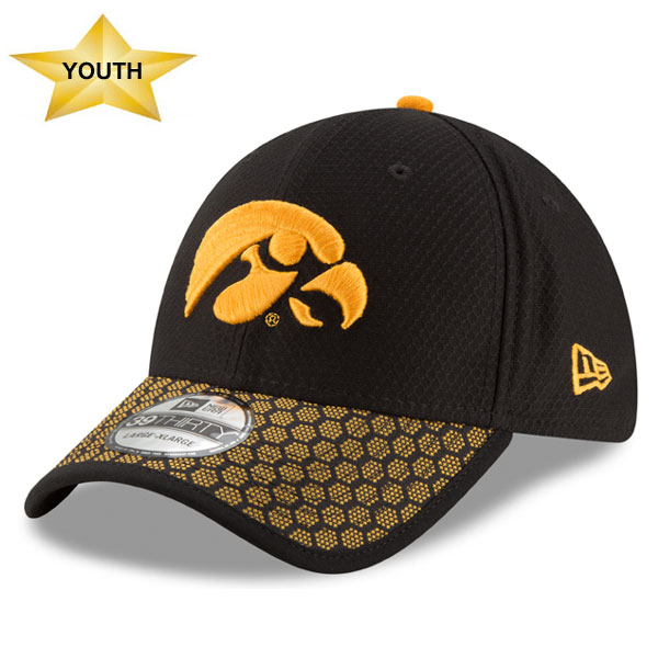 Iowa Hawkeyes Youth Sideline Hat