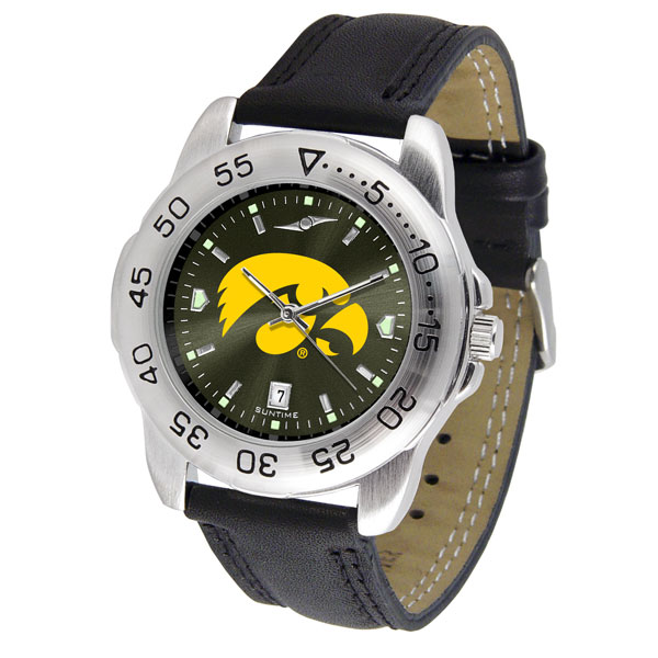 Iowa Hawkeyes Sport AnoChrome Watch