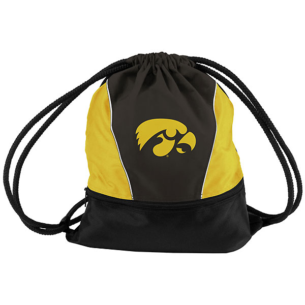 Iowa Hawkeyes Spirit Pack String Bag