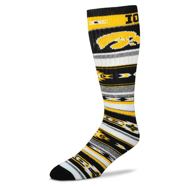 Iowa Hawkeyes Tailgate Socks
