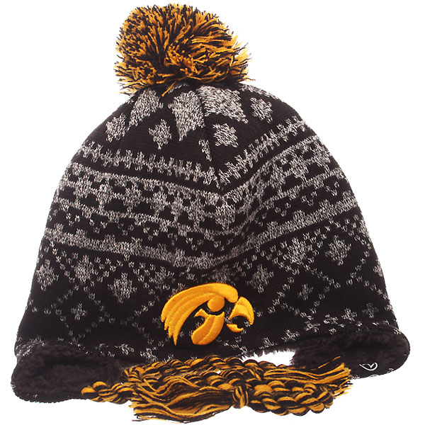 Iowa Hawkeyes Teton Stocking Cap