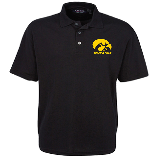 Iowa Hawkeyes Track and Field Polo