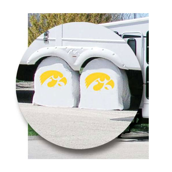Iowa Hawkeyes Tire Shade