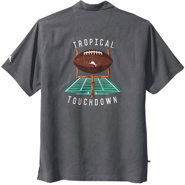 Iowa Hawkeyes Tropical Touchdown Camp Shirt