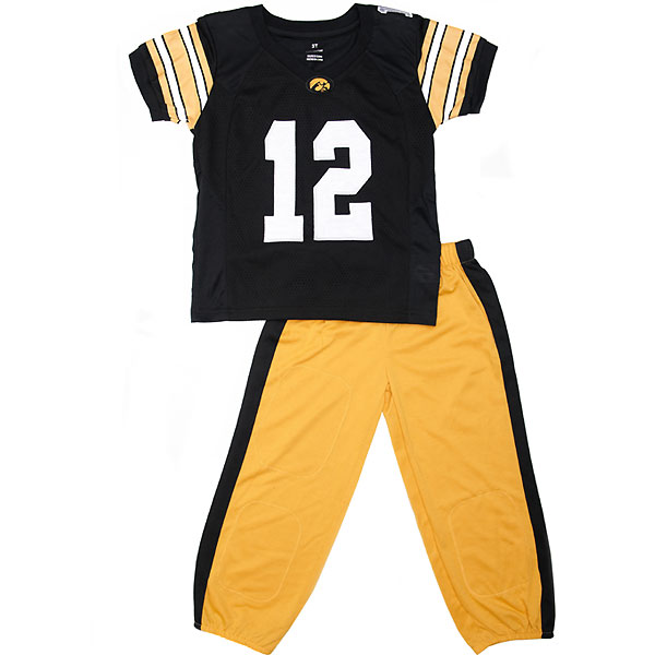 Iowa Hawkeyes Toddler Uniform Set