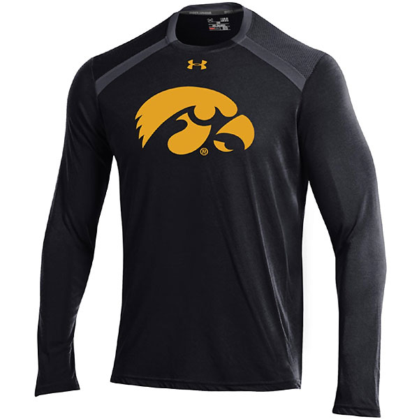 Iowa Hawkeyes Vented Tech Logo Tee
