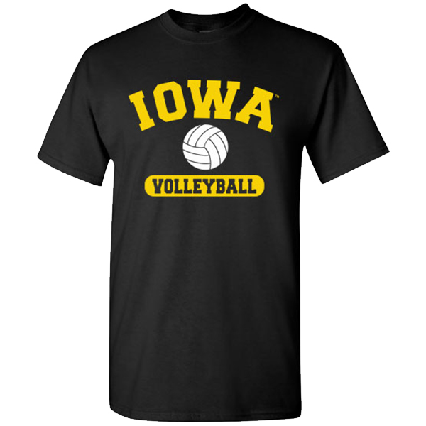 Iowa Hawkeyes Volleyball Tee