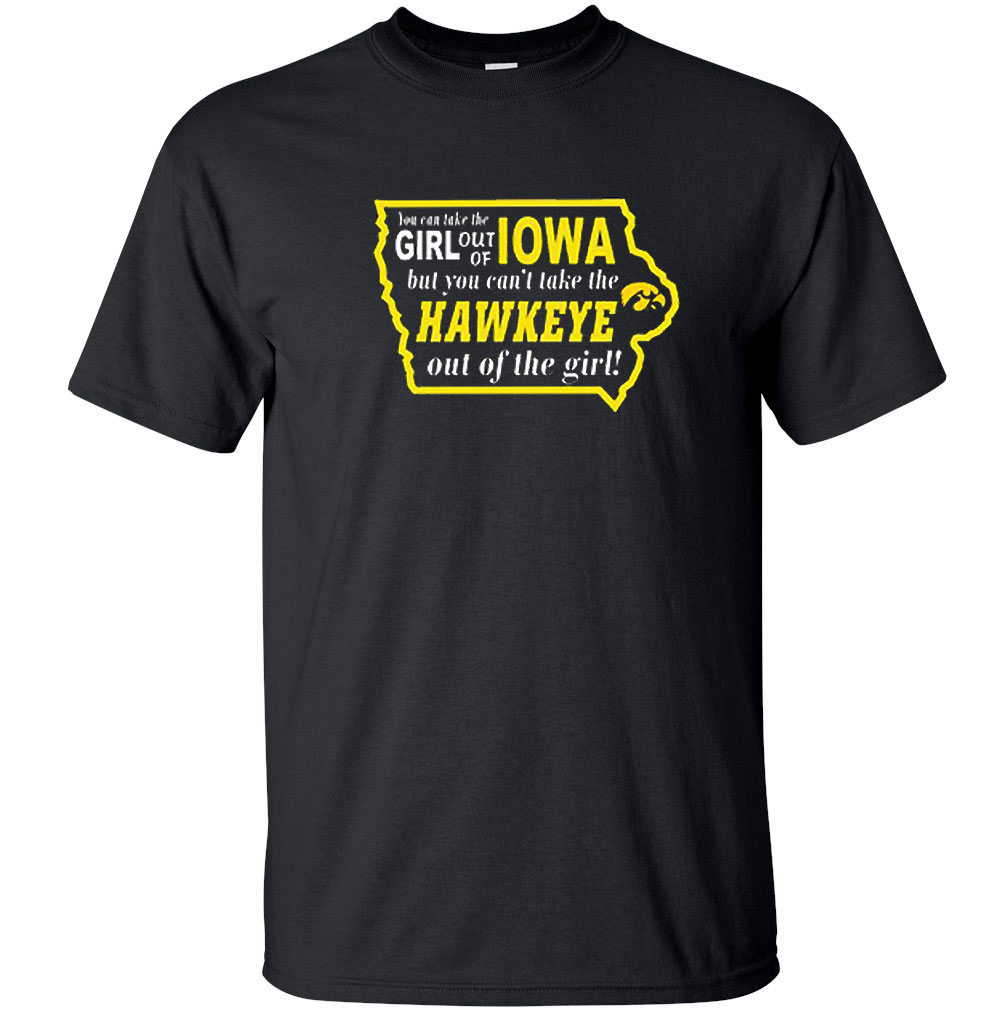 Iowa Hawkeyes Women's Take Out Tee