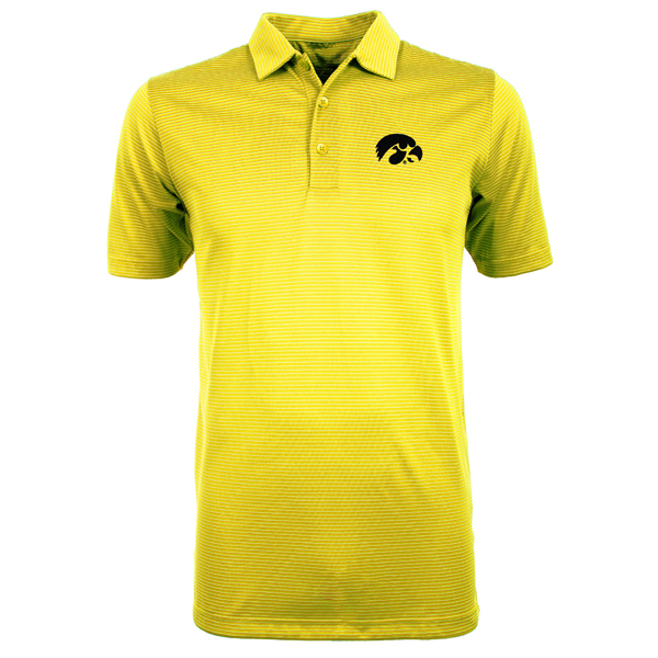 Iowa Hawkeyes Quest Striped Polo
