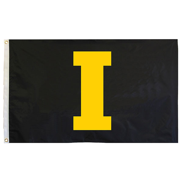 "Iowa Hawkeyes 3' x 5' ""I"" Flag"