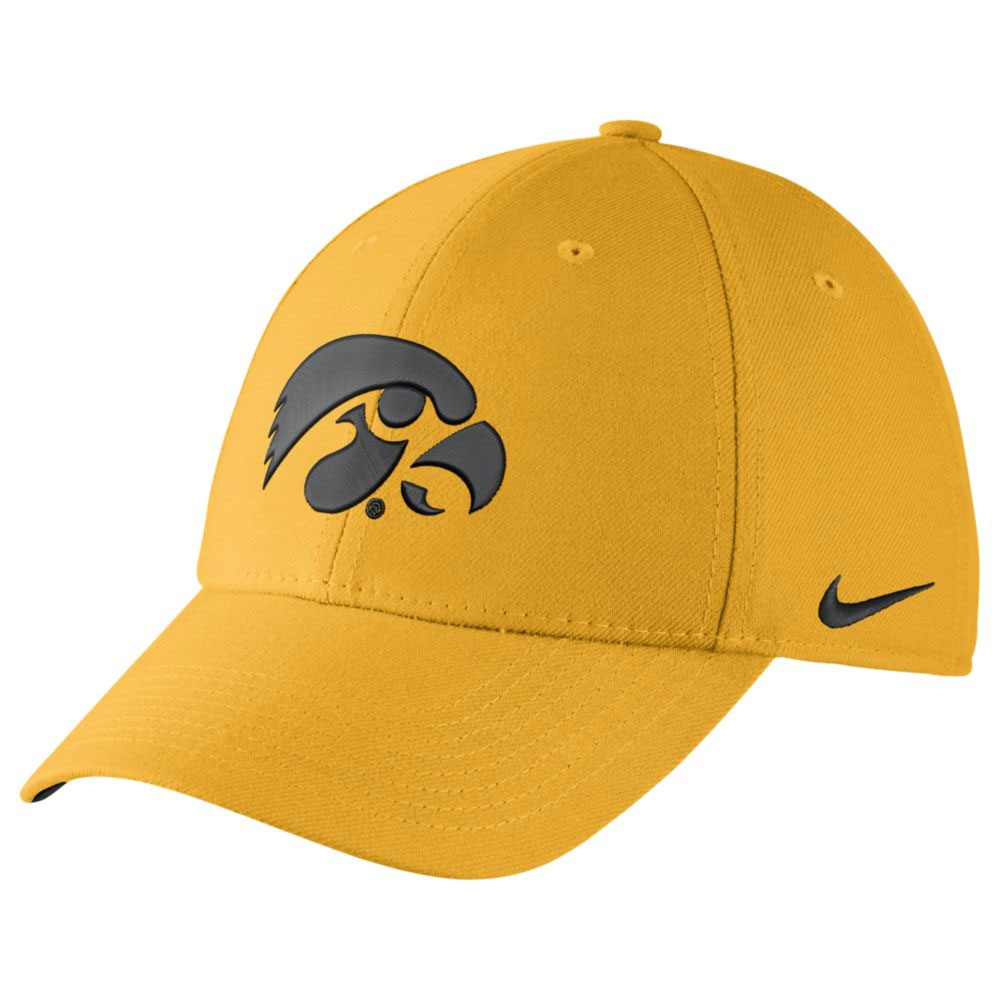 Iowa Hawkeyes Wool Swoosh Flex Cap