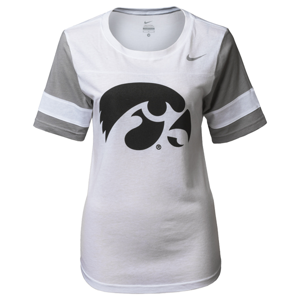 Iowa Hawkeyes Women's Gear Up Modern Fan Top