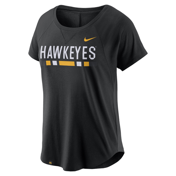 Iowa Hawkeyes Women's Modern Fan Top 2.0