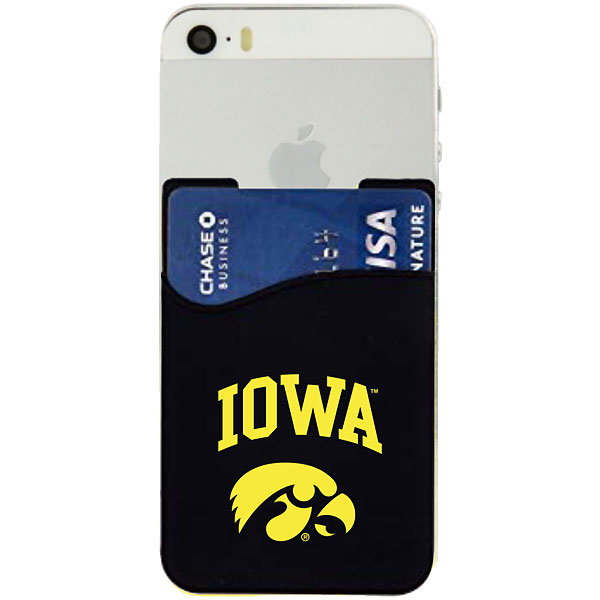 Iowa Hawkeyes Silicone Smart Wallet