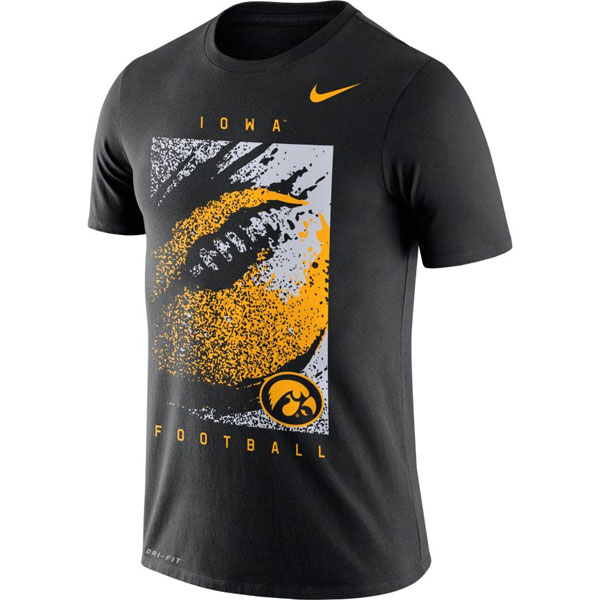 Iowa Hawkeyes Football Tee