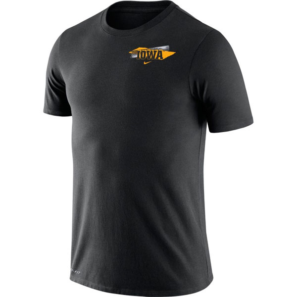 Iowa Hawkeyes Fan Graphics Tee