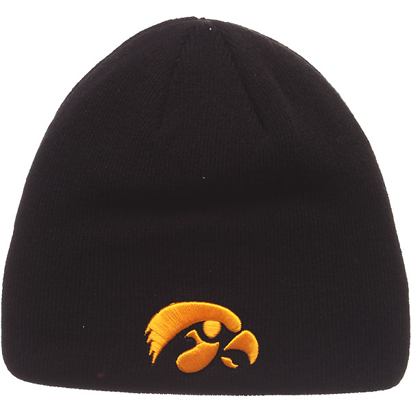 Iowa Hawkeyes Edge Knit Hat