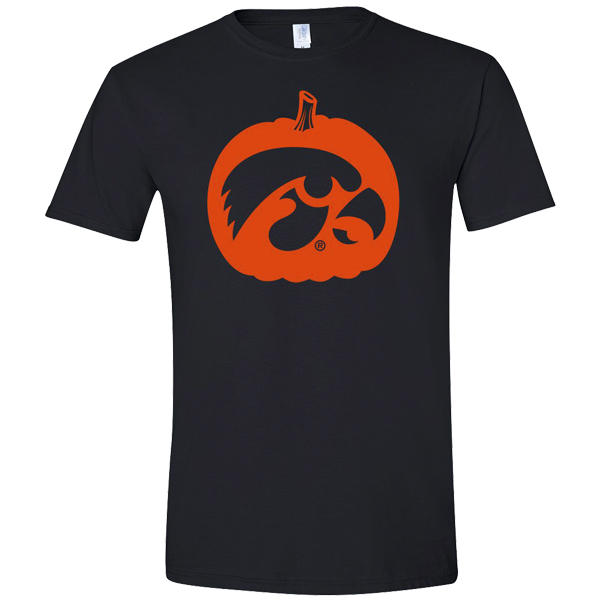 Iowa Hawkeyes Pumpkin Tee