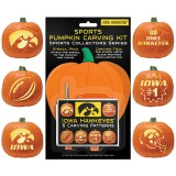 Iowa Hawkeyes Pumpkin Carving Kit