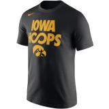 Iowa Hawkeyes Basketball Cotton Tee