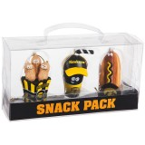 Iowa Hawkeyes Snack Pack Ornament