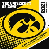 Iowa Hawkeyes 2021 Wall Calendar