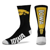 Iowa Hawkeyes Jump Key Socks