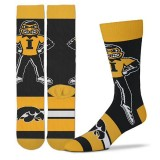 Iowa Hawkeyes Mascot Madness Socks